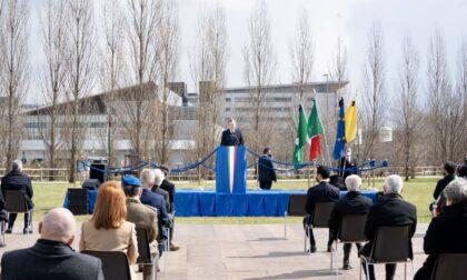Da Draghi al Bosco della Memoria c'erano tutti, ma la scuola non l'hanno invitata