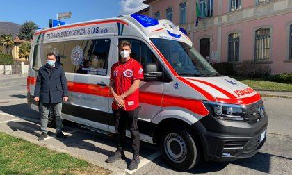 Torre Boldone, grazie alla raccolta fondi donata un'ambulanza alla Padana Emergenza