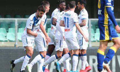 Nuovo modulo, solita Atalanta: vittoria senza discussioni sul campo del Verona (0-2)