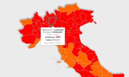 La Lombardia va meglio, ma resterà in zona rossa. Bergamo provincia con i valori migliori