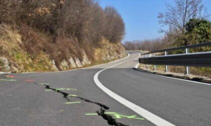 Frana sopra Tavernola, Cinque Stelle contro Regione: «Non si vogliono indagare le cause»