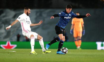 Anche a Madrid un'ottima prestazione. Matteo Pessina sta diventando un gran giocatore