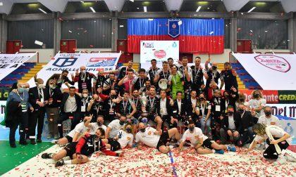 L'Agnelli Tipiesse vince la Coppa Italia! Secco 3-0 alla Delta Group Porto Viro