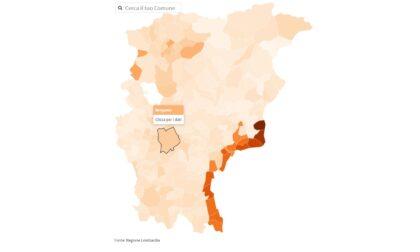 Vaccinazioni anti-Covid in provincia di Bergamo, i dati Comune per Comune