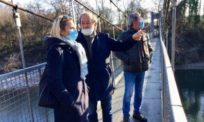 Riqualificazione della passerella sul Brembo tra Osio Sopra e Filago: Regione stanzia 99 mila euro