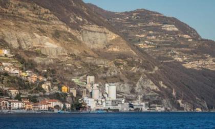 Frana sopra Tavernola, Regione: «Vogliamo capire la cause, ma il Governo stanzi i fondi»