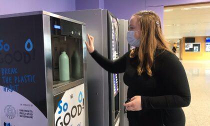 Università, installati 16 dispenser per l'acqua potabile (contro l'uso della plastica)