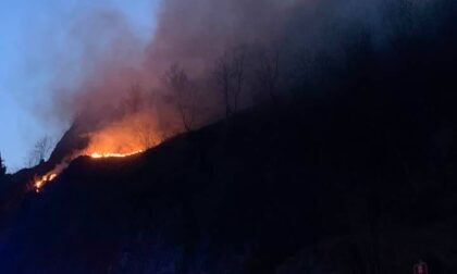 Incendio doloso sugli Orridi della Val Taleggio, indagato un anziano di Lenna