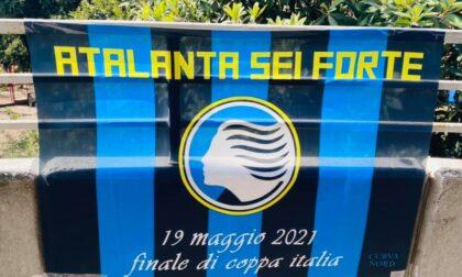 «Atalanta sei forte». Pronte le bandiere per la finale di Coppa Italia, ecco dove ritirarle