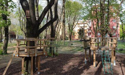 """Nuova vita per il """"Bosco"""" di via Mozart, alla Malpensata: parco avventura e orti"""