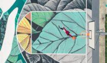 Campetti da basket dipinti ad arte, pronto il primo capolavoro (a Gorle)