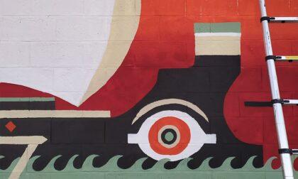 Via Borgo Palazzo si colora dei murales ispirati all'Odissea