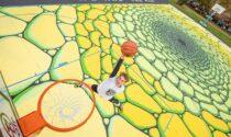 Street art sui campi da basket, pronti quattro playground su cinque