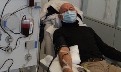 Gioachino, che dopo l'incubo del Covid dona il suo plasma per aiutare gli altri a guarire