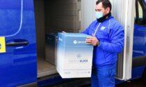In arrivo domani (21 aprile) all'ospedale di Bergamo 7.200 dosi di vaccino AstraZeneca