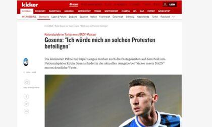 Gosens contro la Super Lega: «Un disastro enorme. Sarò coi tifosi se protesteranno»