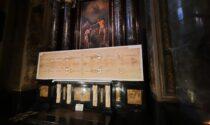 """La Sindone """"made in Val Gandino"""" andrà anche al Duomo e alla Sainte Chapelle di Chambery"""