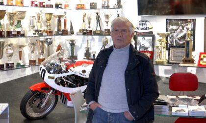 Il pluricampione Giacomo Agostini è testimonal del 35° Rally Prealpi Orobiche