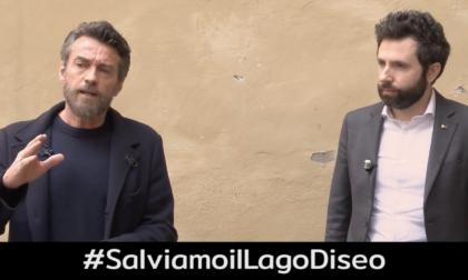 «Salviamo il lago d'Iseo», l'appello lanciato da Alessio Boni e dal deputato Devis Dori