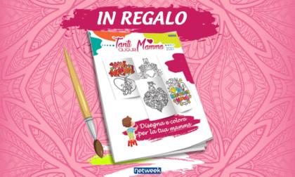 Tanti Auguri Mamma: questa settimana in regalo l'album da colorare con Prima Bergamo