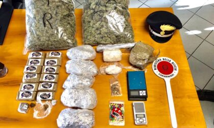 Casa della droga a Bonate Sotto: sequestrati oltre 4 chili di droga, arrestati due giovani