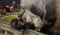 Pauroso incidente a Suisio, miracolato un 23enne