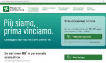 Vaccini Covid Lombardia, attenzione: le prenotazioni si fanno sul sito della Regione non su quello di Poste italiane