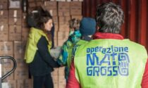 Raccolta viveri dell'Operazione Mato Grosso nei supermercati Iperal bergamaschi
