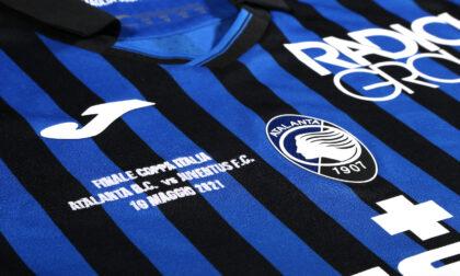Finale di Coppa Italia, ecco la maglia ufficiale: in vendita da lunedì all'Atalanta Store