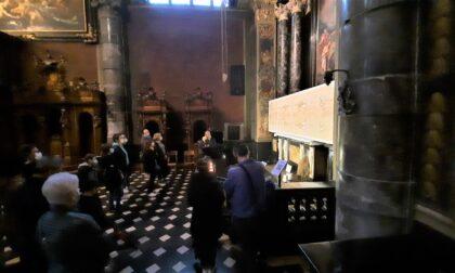 Sacra Sindone, tempi supplementari per ammirare la copia in Basilica a Gandino