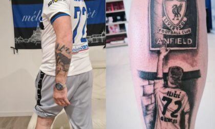 Il tatuaggio con Ilicic ad Anfield dopo il gol con il Liverpool? Non è di Josip ma di Mario!