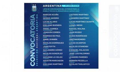 Palomino e Romero sono stati convocati dall'Argentina del ct Lionel Scaloni