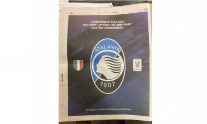 Dei tifosi toscani hanno comprato una pagina de La Nazione per ringraziare la Dea