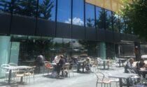 Anche Oriocenter ha il suo dehor: 400 posti a sedere all'aperto per la bella stagione