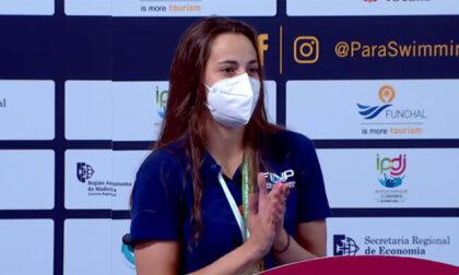 Giulia Terza stella del nuoto paralimpico con 5 ori e un bronzo agli Europei