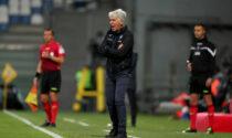 Gasperini: «Sfortunati negli episodi, nella ripresa tutto è cambiato per un loro gran gol»