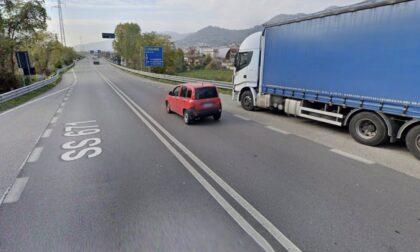 Buche sulla strada statale 671 per la Val Seriana, Ongaro: «Anas intervenga in tempi brevi»