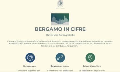 """Curiosi di conoscere i dati anagrafici della città? Le risposte sono su """"Bergamo in Cifre"""""""