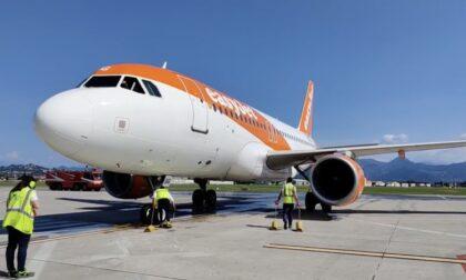 EasyJet sbarca a Orio al Serio: inaugurato il primo volo da Bergamo verso Olbia