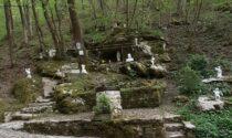 L'uomo che, giorno dopo giorno, ha costruito una piccola Lourdes nella valle del Giongo