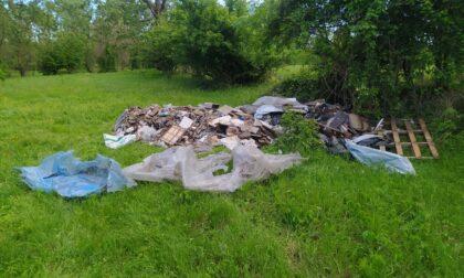 Parco del Brembo, altro scarico illegale di rifiuti