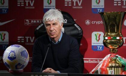 Gasperini sulla finale: «Noi favoriti? Contro la Juventus non parti mai da favorito»