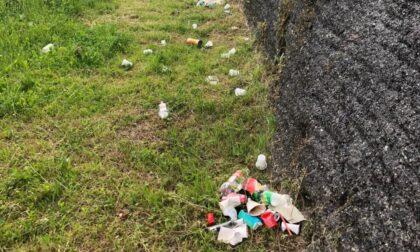Spazzatura lanciata dalle Mura, l'attacco di Orobicambiente: «Orde barbariche giovanili»