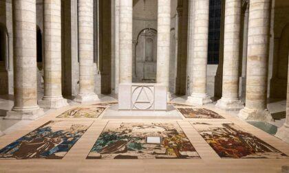 L'arte del bergamasco Andrea Mastrovito all'abbazia di Fontevraud, in Francia