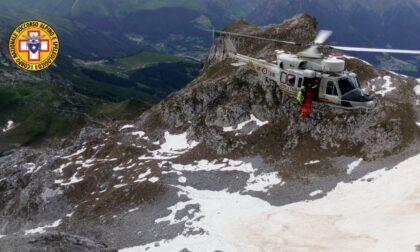 Un dispositivo d'emergenza ricorderà Alessandro Fornoni ai piedi della Presolana