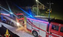 Incendio nella notte in un'abitazione di Valtorta: donna ustionata e portata in ospedale