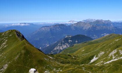 La possente e inimitabile bellezza del monte Menna, tra Val Brembana e Val Serina