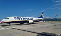 A Orio al Serio il primo Boeing 737-8200 Ryanair: più silenzioso e meno inquinante