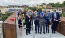 Inaugurata la passerella sul Serio tra Gorle e Scanzo: «Simbolo di rinascita e dialogo»