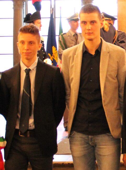 Jacopo Caccia e Nicola Bertasa
